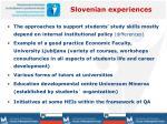 slovenian experiences