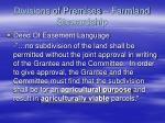 divisions of premises farmland stewardship