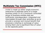 multistate tax commission mtc