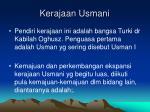 kerajaan usmani