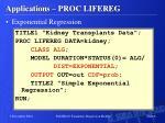 applications proc lifereg4