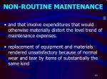 non routine maintenance1