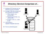 directory service comprises of