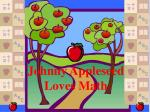 johnny appleseed loves math