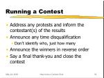 running a contest29