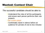 wanted contest chair1