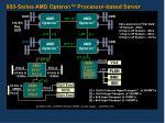 800 series amd opteron processor based server