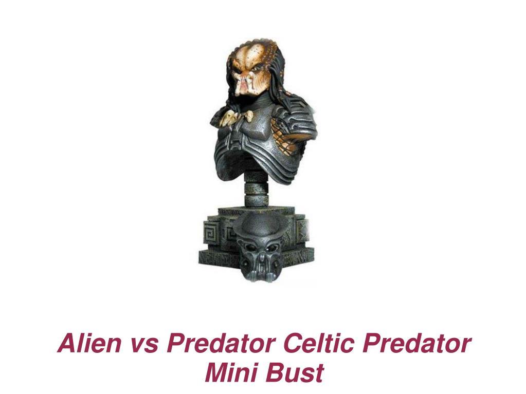 Alien vs Predator Celtic Predator Mini Bust