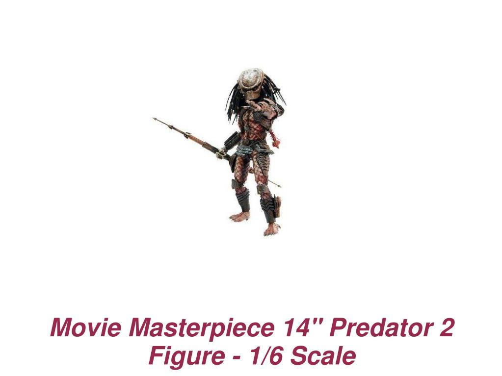 "Movie Masterpiece 14"" Predator 2 Figure - 1/6 Scale"