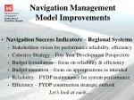 navigation management model improvements4