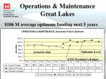 operations maintenance great lakes