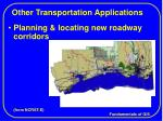 other transportation applications