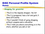 disc personal profile system humor2