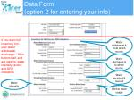 data form option 2 for entering your info1
