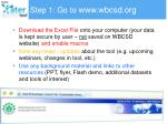 step 1 go to www wbcsd org