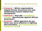 african americans challenge discrimination1