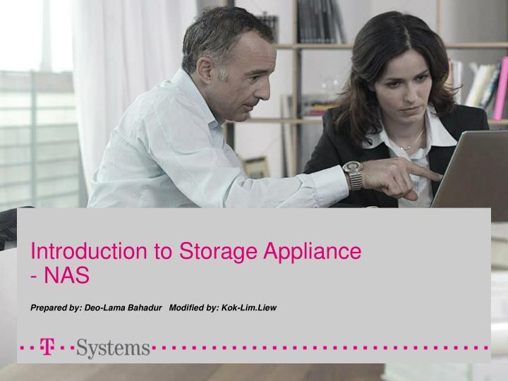 introduction to storage appliance nas n.