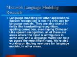 microsoft language modeling research4