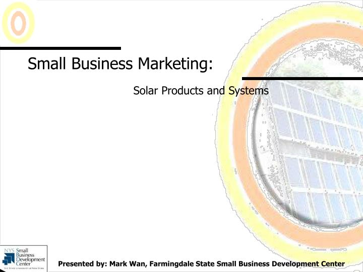 small business marketing n.