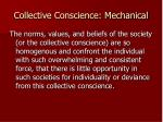collective conscience mechanical1