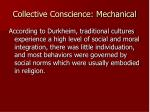 collective conscience mechanical2