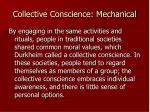 collective conscience mechanical3
