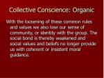 collective conscience organic3