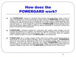 how does the powergard work