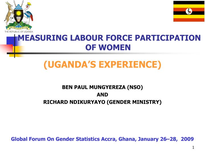 measuring labour force participation of women n.