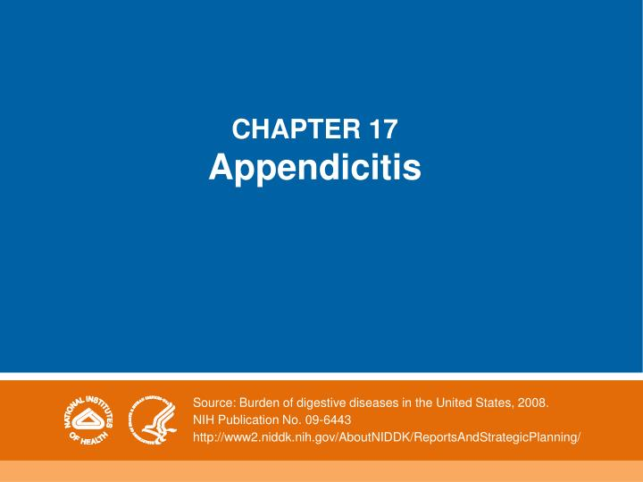 chapter 17 appendicitis n.