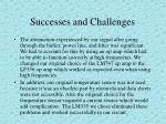 successes and challenges1