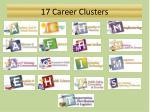 17 career clusters