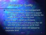 planning for quality1