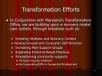 transformation efforts