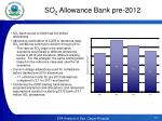 so 2 allowance bank pre 2012