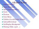 abap 4 editor