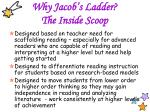 why jacob s ladder the inside scoop