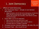 1 joint democracy