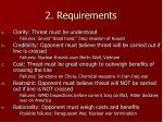 2 requirements3