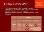 4 games nations play