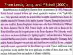 from leeds long and mitchell 2000