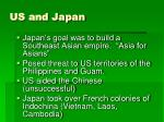 us and japan