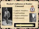 blackett s influence at bomber command