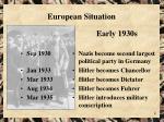 european situation