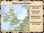 home land defense