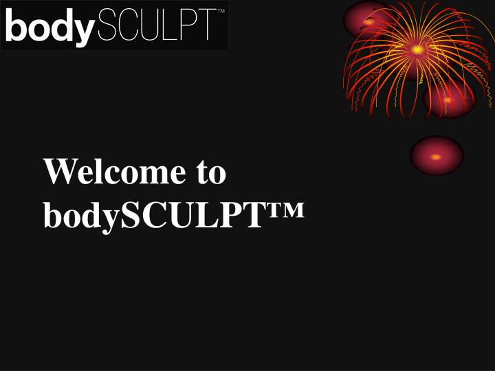 Welcome to bodysculpt