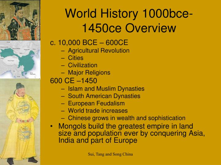 world history 1000bce 1450ce overview n.