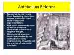 antebellum reforms