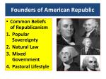founders of american republic
