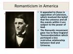 romanticism in america1